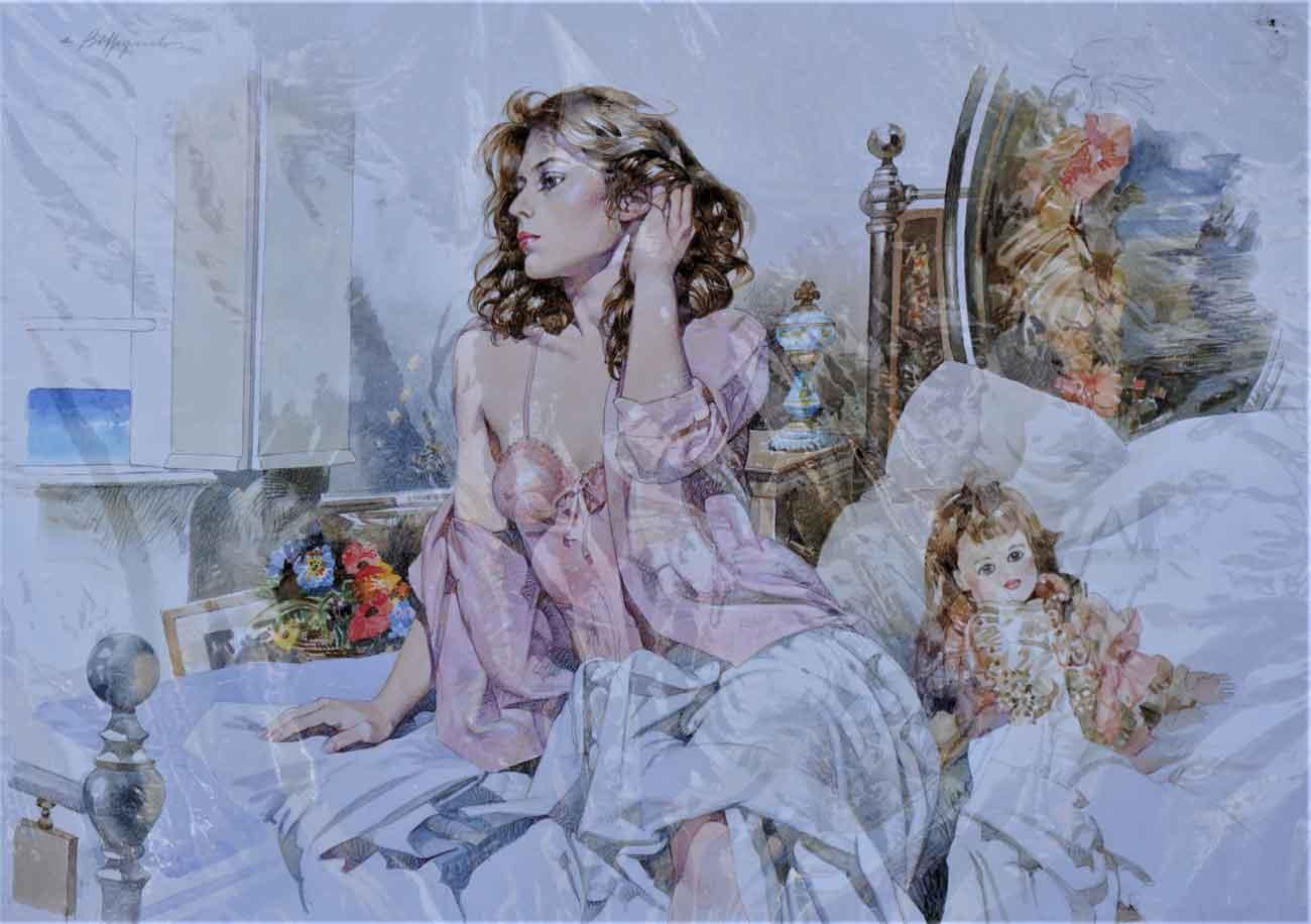 Biffignandi - Donna con bambole
