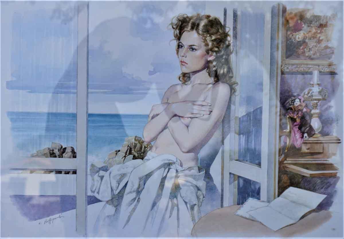 Biffignandi - Donna alla finestra