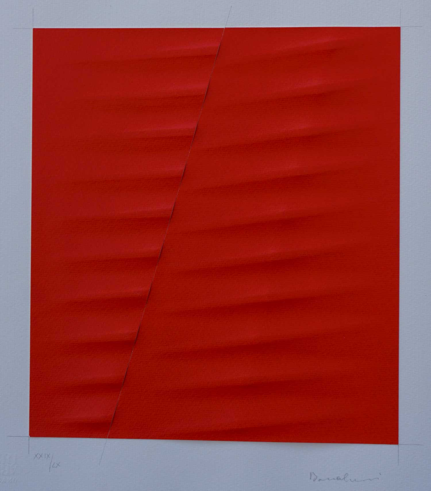 Bonalumi Agostino - Rosso