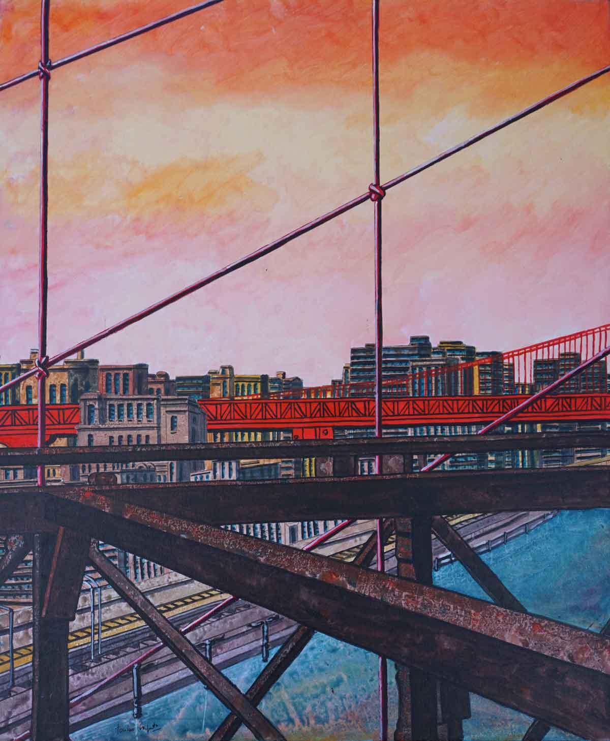 Caputo Tonino - Manhattan Sunset Bridge