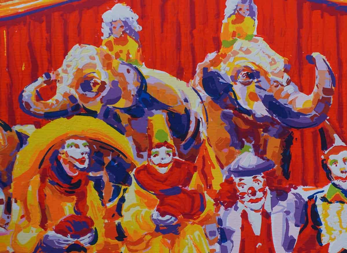 Faccincani Athos - Circo