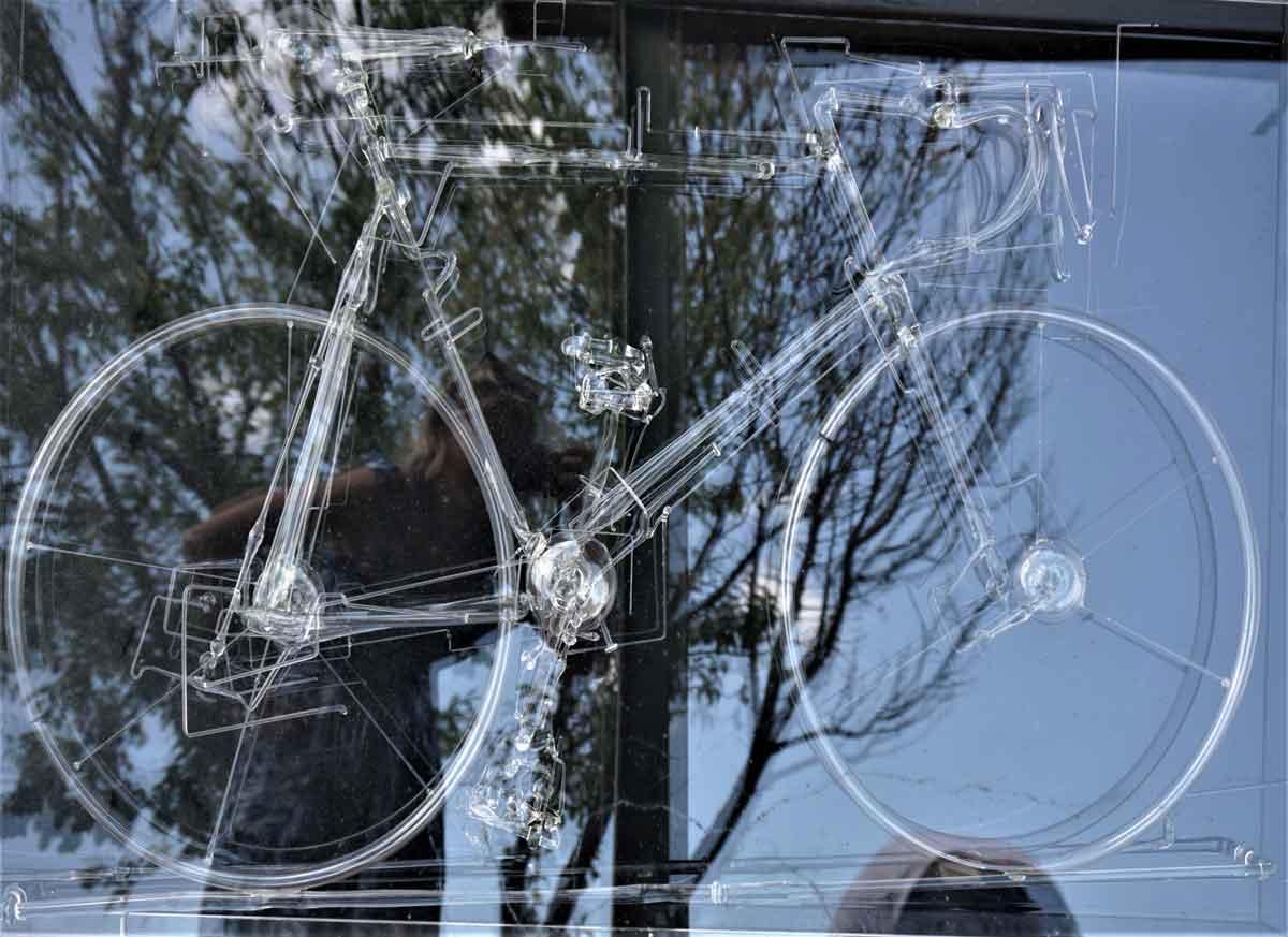Mahatma - Bici in vetro soffiato